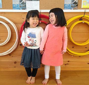 リトミックSTEP3クラスの女の子達